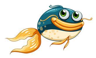 Een vis met grote ogen
