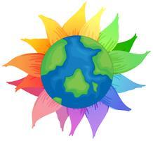 Planeet aarde vector