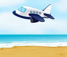 een vliegtuig