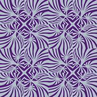 Abstract geometrisch patroon Golf naadloze textuur. Bloemen ornament vector
