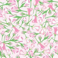 Naadloze bloemmotief. Bloem roos achtergrond. vector