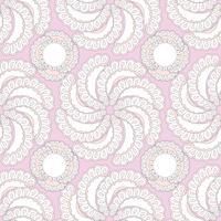 Abstract bloemen sierpatroon. Naadloze bac van de bloem naadloze vector