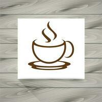 Koffiekopje pictogram