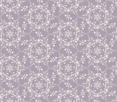 Abstracte punt bloemen naadloze textuur. Stijlvol tegelpatroon
