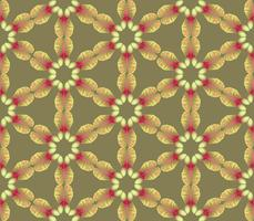 Abstract bloemen etnisch patroon. Geometrisch ornament.