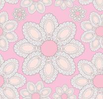 Abstract bloemen etnisch patroon. Geometrisch bloemenornament. = vector