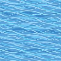 Ocean wave naadloze patroon. Golvende zeewaterachtergrond.