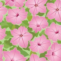 Naadloze bloemmotief. Decoratieve bloem achtergrond. vector