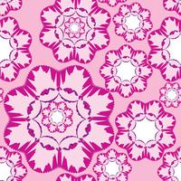 Abstract floral geometrische sieraad. Naadloze lijnpatroon vector