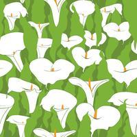 Naadloze bloemmotief. Abstracte bloemachtergrond.