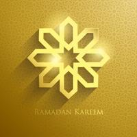 Ramadan-groeten vector