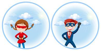 Een superheld-personage