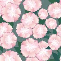 Naadloze bloemmotief. Bloem achtergrond. vector
