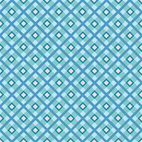 Stof ornament. Naadloze tartan patroon Vierkante geometrische achtergrond vector