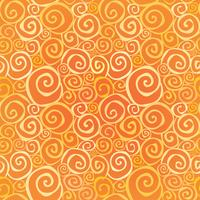 Abstract sier naadloos patroon. Swirl lijn geometrische achtergrond