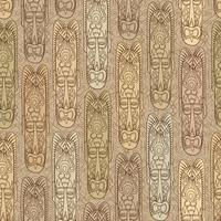 Etnisch naadloos patroon, stammenstijl. Afrikaanse masker betegelde achtergrond.