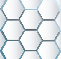 abstract bee hive zeshoek en ruimte achtergrond vector