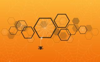 spider web Halloween achtergrond, spider web achtergrond vector illustratie EPS10
