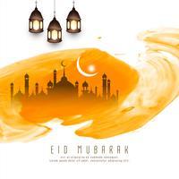 Abstracte islamitische festival achtergrond vector