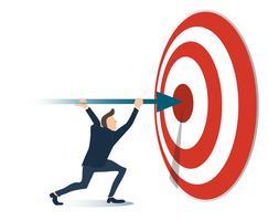 ACCOMPLISHMENT, Reaching Business-concept vector