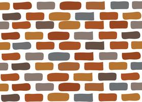 bakstenen muur vector
