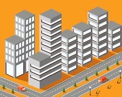 Stadsstructuur vector