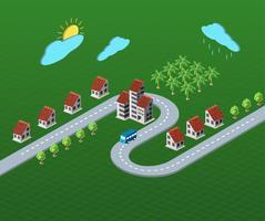 huizen vector