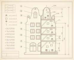 Planfaciliteit vector