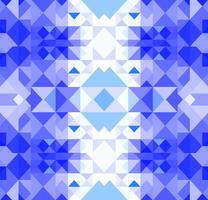 Kerst geometrische patroon