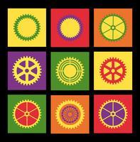 Pop art patroon