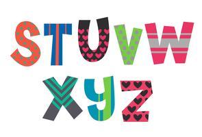 Designer-alfabetten deel 3