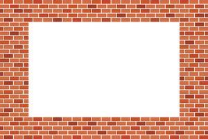 Abstracte achtergrond van bruine bakstenen muur - vector ontwerp