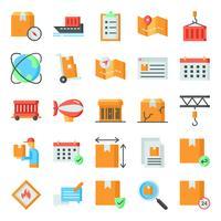 Logistieke pictogrammen pack