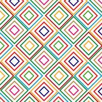 Vierkant patroonontwerp voor iedereen vector