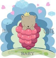 schattige kleine beer