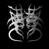 tribal tattoo 13 vector