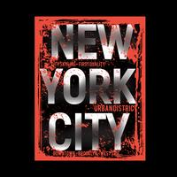 Brooklyn-remixtypografie, t-shirtgrafiek, vectoren