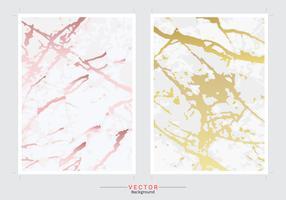 Gouden marmeren textuurachtergrond. vector