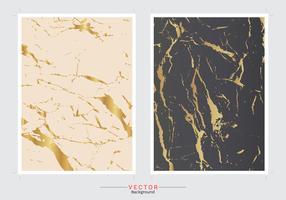 Gouden marmeren dekkingsachtergrond.