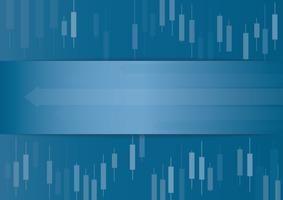 Kandelaar beurs achtergrond vector