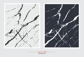 Zwart-witte marmeren dekkingsachtergrond. vector