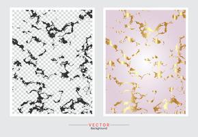 Rose gold marmeren textuur achtergrond. vector