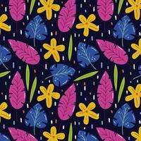 Bloemen zomerpatroon vector
