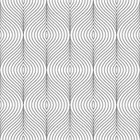 Vector zwart-wit decoratieve elementen naadloos patroon.