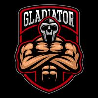 Gladiator logo ontwerp.