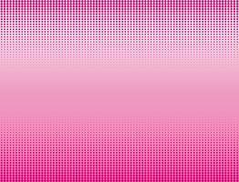Vectorillustratie van roze halftone bannersachtergrond