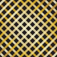 Abstract gouden dwarslijnontwerp op zwarte achtergrond - Vectorillustratie