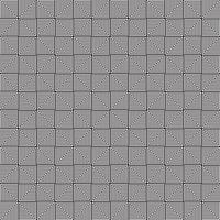 Vector naadloos zwart-wit patroon geometrisch van gestreepte elementenachtergrond