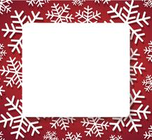 sneeuwvlok banner voor web Kerst concept achtergrond vector