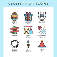 Viering pictogrammen